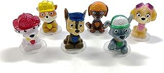 comprar comparacion Patrulla Canina - Mini Figuras para Decorar Tartas de Cumpleaños Infantiles - Set de 6 - 4,5 cm