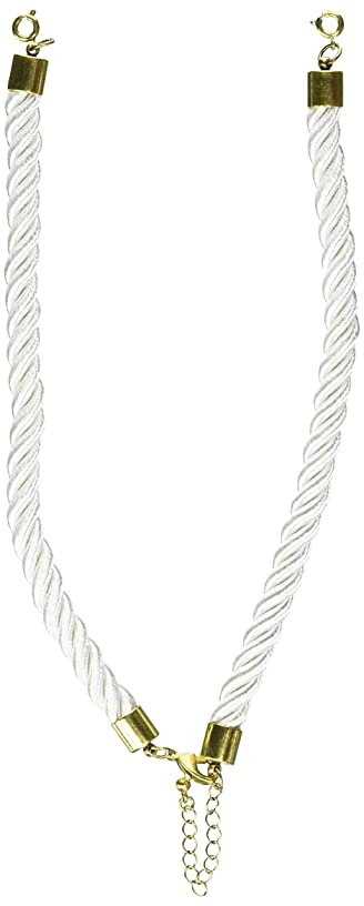 Darice RS-006 Statement Top Twisted Cord White Gold