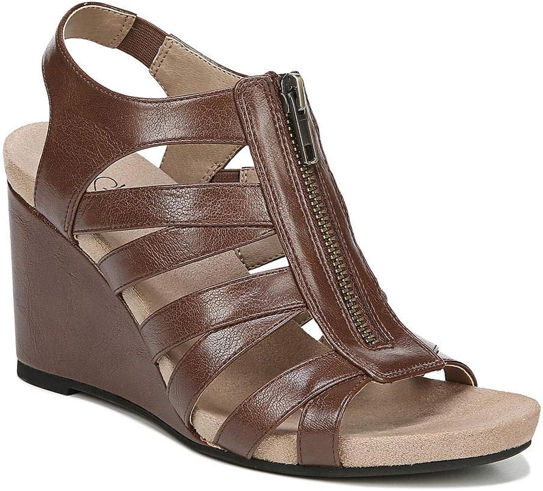 LifeStride Womens Hollie Wedge Sandal