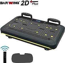 BARWING Vibration Platform, Whole Body Workout Vibration Fitness Machine, Push Up Bars, Home Training Equipment for Body Shape&Massage