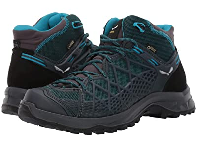SALEWA Wild Hiker Mid GORE-TEX(r) (French Blue/Black) Women