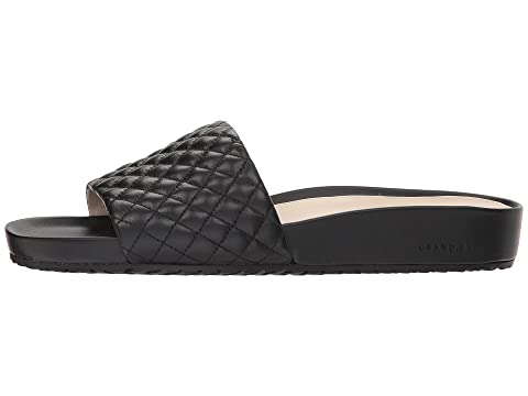 Leather Quilted Cole LeatherOptic Pinch Haan Quilted White Slide G Montauk Black OS TqB1CPgTw
