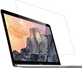 Tempered Glass Screen Protector Compatible for MacBook Pro 13 A1706 A1708 A1989 and MacBook Air 13 A1932, 9h Hardness Scratch Proof, Keyboard Dust Cover Included
