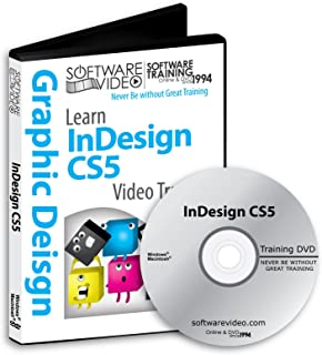 Software Video Learn Adobe Suite InDesign CS5 Training DVD Sale 60% Off training video tutorials DVD Over 11 Hours of Video Tutorials Training