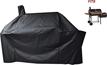 a1COVER Smoker Grill Cover Sized for Char-Griller Charcoal Grill 2190 and 2197 Heavy Duty Waterproof Patio 600D Canvas Barbeque BBQ Grill Cover G21623