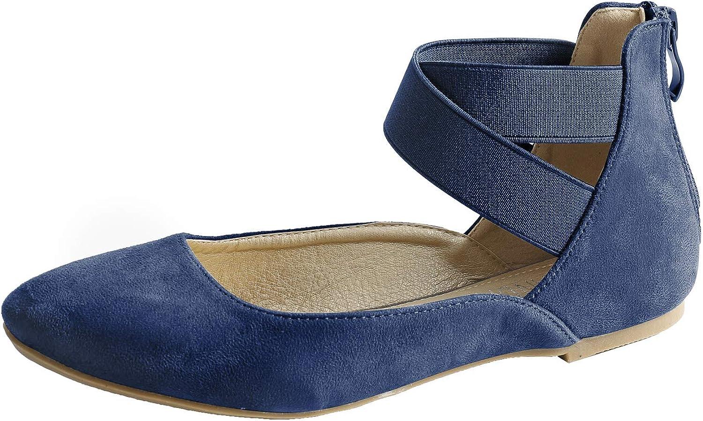 Sandalup Women Flat shoes Elastic Classic Ballerina Flats
