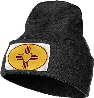 Zia Symbol Men&Women Warm Winter Knit Plain Beanie Hat Skull Cap Acrylic Knit Cuff Hat