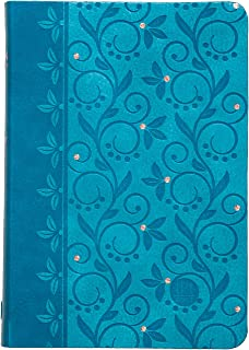 The Passion Translation New Testament with Psalms Proverbs and Song of Songs (2020 Edn) Compact Teal Faux Leather
