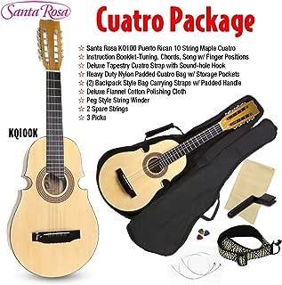 Santa Rosa 10 String, Right, KQ100, cuatro package (KQ100K)