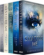 Shatter Me Series Collection 5 Books Set By Tahereh Mafi (Shatter, Restore, Ignite, Unrave, Defy Me)