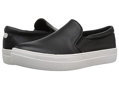 Steve Madden Gills Sneaker (Black Leather) Women
