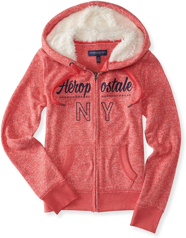 87eceda71 Aeropostale Heathered Hoodie Sweatshirt Womens Ny nuxdjn7275 ...