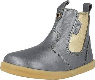 Baby Girl's I-Walk Jodhpur Boot (Toddler) Charcoal Shimmer 25 (US 8 Toddler)