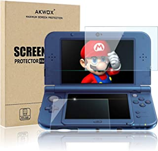(4-Pack) Screen Protector for Nintendo 3DS XL, Akwox HD Clear Crystal PET Screen Protective Filter for Nintendo 3DS XL wit...