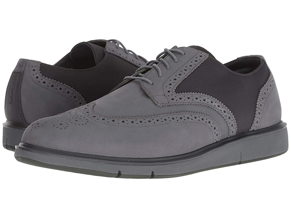 SWIMS Motion Wing Tip Oxford (Grey/Olive) Men