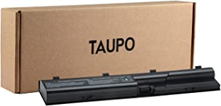 TAUPO Laptop Battery Compatible with HP Probook 4530s 4535s 4540s 4545s 4440s 4430s 4431s 4435s 4330s Series, fits P/N 633805-001 HSTNN-IB2R 633733-321[4400 mah/ 49wh]-12 Months Warranty