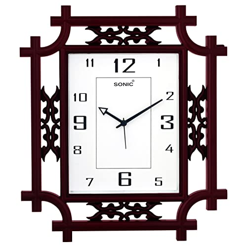 Square Wall Clock Buy Square Wall Clock Online At Best