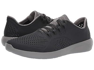 Crocs LiteRide Pacer (Black/Smoke) Men
