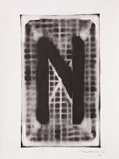 Letra N ABC Hort por Fabio De Minicis - Lienzo original 1/7-50 x 70 cm.