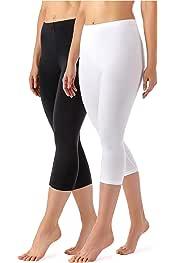 Merry Style Leggings 3//4 Pantaloni Capri MS10-290