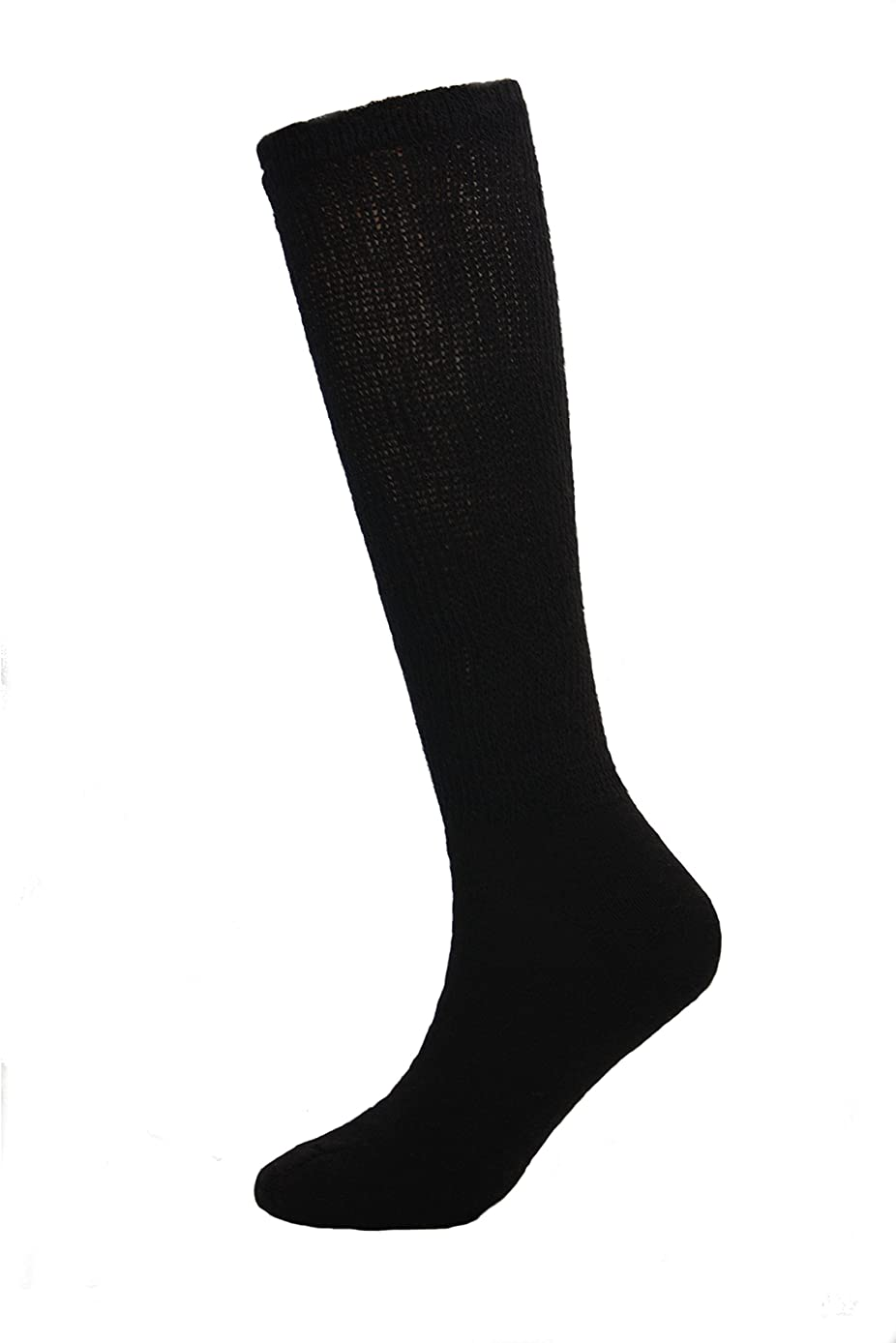 Sole Pleasers Men's Diabetic Over the Calf Socks - 3 Pairs