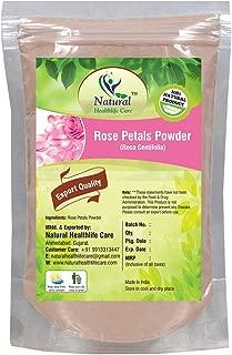 100% Pure Rose Petals Powder (Rosa Centifolia) for Facial Mask Formulation (100 gm/(0.22 lb)/3.5 ounces)