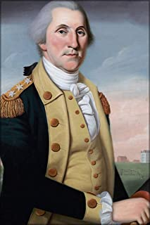 20x30 Poster; George Washington At Princeton. By Charles Peale Polk