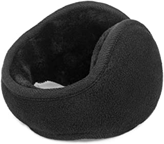 TONLION Fleece Foldable Ear Muffs/Ear Warmers - Behind the Head Style Winter Earmuffs for Men and Women