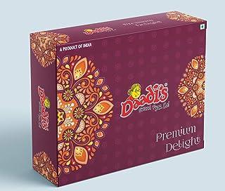 Daadi's Assorted Mobile Khakhra - Methi, Masala, Chilly Kothmir, Panipuri, Chocolate, Nachos 50g (Pack of 6)