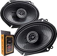 "Pair of Kenwood 6x8"" 360W 2-Way Coaxial Car Audio Speakers   (2 Speakers) + Extra photo"