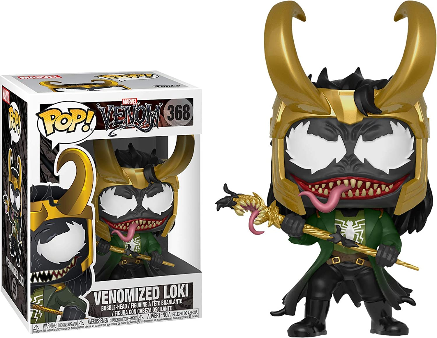 POP  Venom Funko Vinylfigur Venomized Loki 368 Exclusive