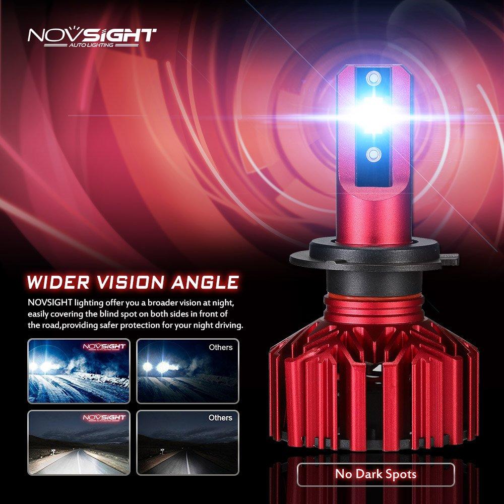 Bombilla H1/ LED Faros Delanteros Bombillas LucesL/ámpara luz para Coche y Moto Kit Veh/ículo Car Auto Llevado 10000LM 6000K/ luz blanca fr/ía 2X30W IP68herm/ética 3 a/ños de garant/ía