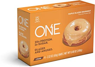 ONE Protein Bar, Maple Glazed Doughnut, 4 Count