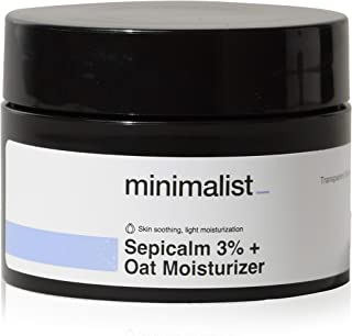Minimalist 3% Sepicalm + Oats Moisturizer for Face | Lightweight Moisturizer For Oily, Acne Prone Skin | Non comedogenic &...