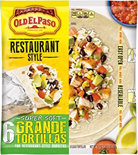 Best carbs in a flour tortilla shell Reviews