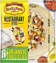 Old El Paso Old El Paso Restaurante Grande Flour Tortillas 6 ct Bag, 21.5 oz