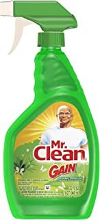 Mr. Clean with Gain,  Multi Surface Spray Cleaner, Original Fresh Scent, 32 Oz Spray Bottle, (Pack of 3)