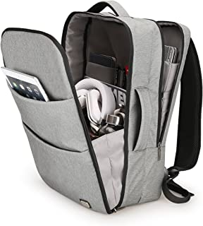 Mark ryden Water Resistant Polyester Laptop Backpack with USB Charging Port Fits Up to 17.3 Inch Laptop (Grey)