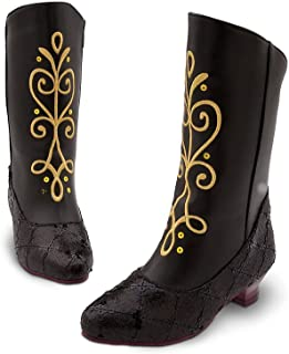 Store Anna Boots for Girls Frozen Size 11-12 Black