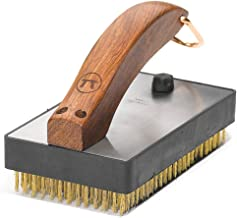 Outset QB47 Rosewood Collection Oversized Grill Brush