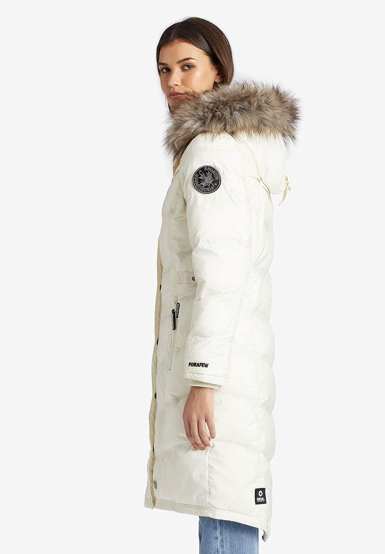 khujo Lubek Long 3 Frauen Wintermantel schwarz Basics Casual Wear Streetwear