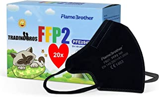 Trading Bros 20x FFP2 Maske Kleine Größe Mini Size