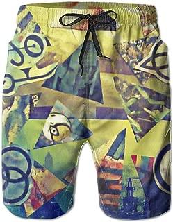 Led-Zeppelin Illustration 2019 Summer Casual Beach Shorts
