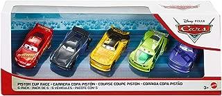 Disney Pixar Cars Piston Cup Race 5-Pack with First Look Next-Gen Racer Leak Less #52