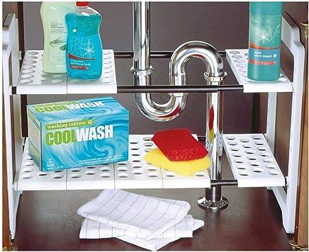 Tremendous Amazon Co Uk 15 50 Under Sink Storage Racks Download Free Architecture Designs Itiscsunscenecom