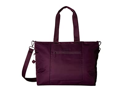 Hedgren Swing Large Tote with RFID (Purple Passion) Tote Handbags