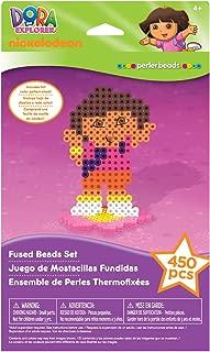 Dora the Explorer Perler Fused Bead Set ~ Dora Introduction Set (450 Pieces)