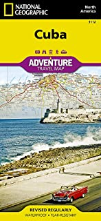 Cuba (National Geographic Adventure Map)