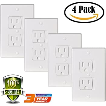 shockingly 3d electrical outlet covers wall switchplates.htm amazon com universal electric outlet cover baby safety self  amazon com universal electric outlet