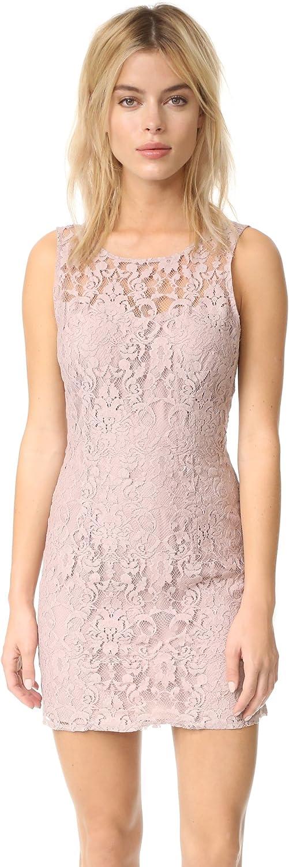 BB DAKOTA Women's Petite Thessaly Sleeveless Lace Dress